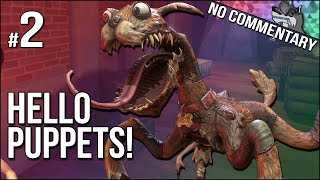 Hello Puppets!   Part 2   This Puppet Dog Is NOT A Good Boy!! (No Commentary)
