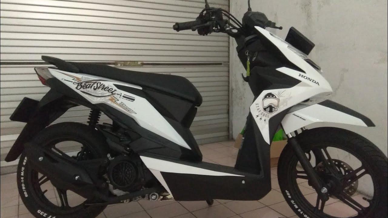 Modifikasi New Honda Beat Street 2018
