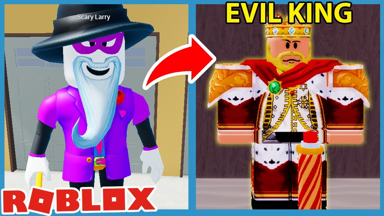 WHAT IF SCARY LARRY WAS AN EVIL KING! - Roblox Lost Story