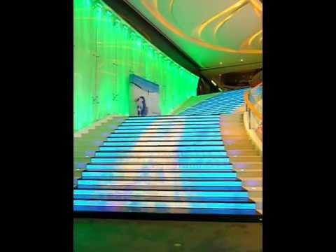 Rainbow Staircase Holiday Plaza mall Shenzhen China