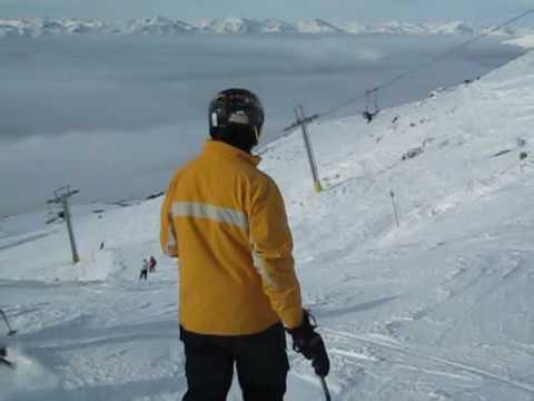 Skiing Whistler Blackcomb from 7th Heaven to Peak 2 Peak