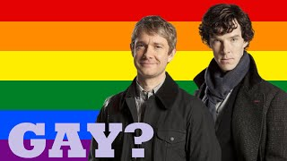 Repeat youtube video Are They Gay? - Sherlock Holmes and John Watson (Johnlock)