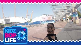 KIDZ BOP Life UK: Vlog #6 - The Road to The 02 Arena with Twinkle & The KIDZ BOP Kids