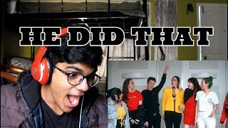 JamesCharles ft Cimorelli-Demilovato Mashup Reaction