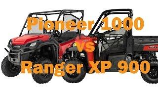 Honda Pioneer 1000 vs Polaris Ranger XP 900