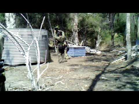 The Paintball Battle of Rouse Hill