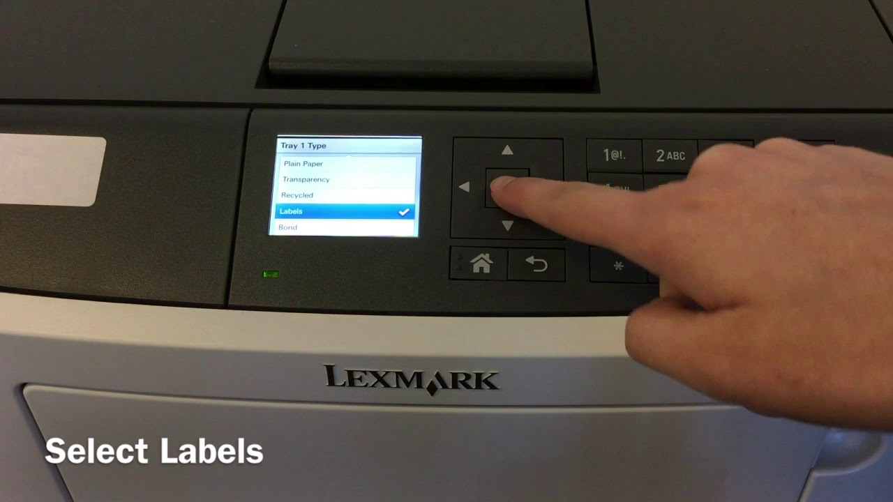 NEW DRIVERS: LEXMARK MS610 PRINTER