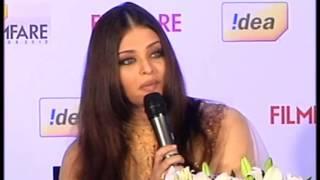 Aishwarya Rai Press Conference For Filmfare Awards
