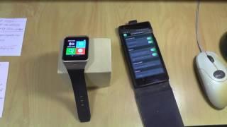 smart Watch Gv18 Aplus часть 2 ЭКСПЛУАТАЦИЯ