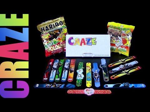 Dragons - Frozen & Rebels Slap Snap Bands ™ CRAZE ® Paket Unboxing 04