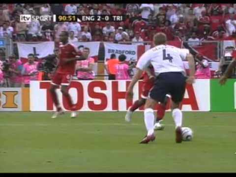 Gerrard goal - FIFA World Cup 2006 England - Tobago