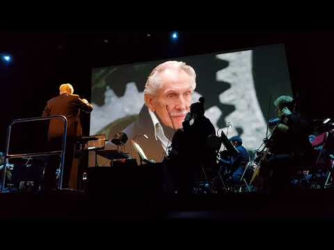Danny Elfman palais des congres medley Edward Scissorhands