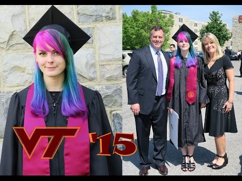 My College Graduation! Computer Engineering BS, Virginia Tech, 2015