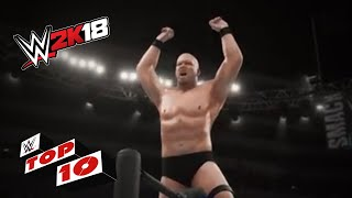 Legendary Hall of Famers' Finishing Moves: WWE 2K18 Top 10 thumbnail