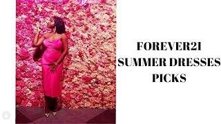 FOREVER21 SUMMER DRESSES HAUL!