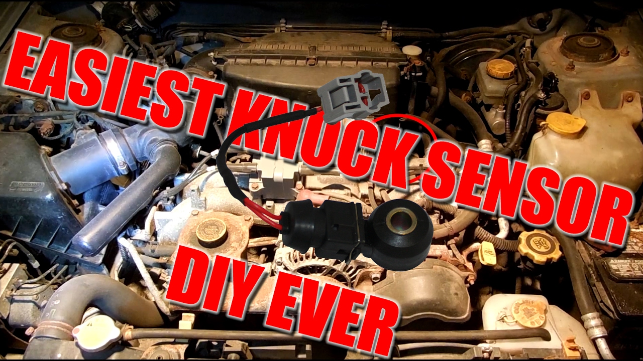Subaru Forester Knock Sensor Replacement Diy