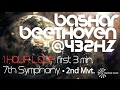 ? BASHAR ?  BEETHOVEN @ 432Hz  ? 1 HOUR  LOOP 7th SYMPHONY  MVT. II  of the first 3 min..