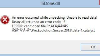 الحل النهائي لمشكلة (isdone.dll (code 6/7/5