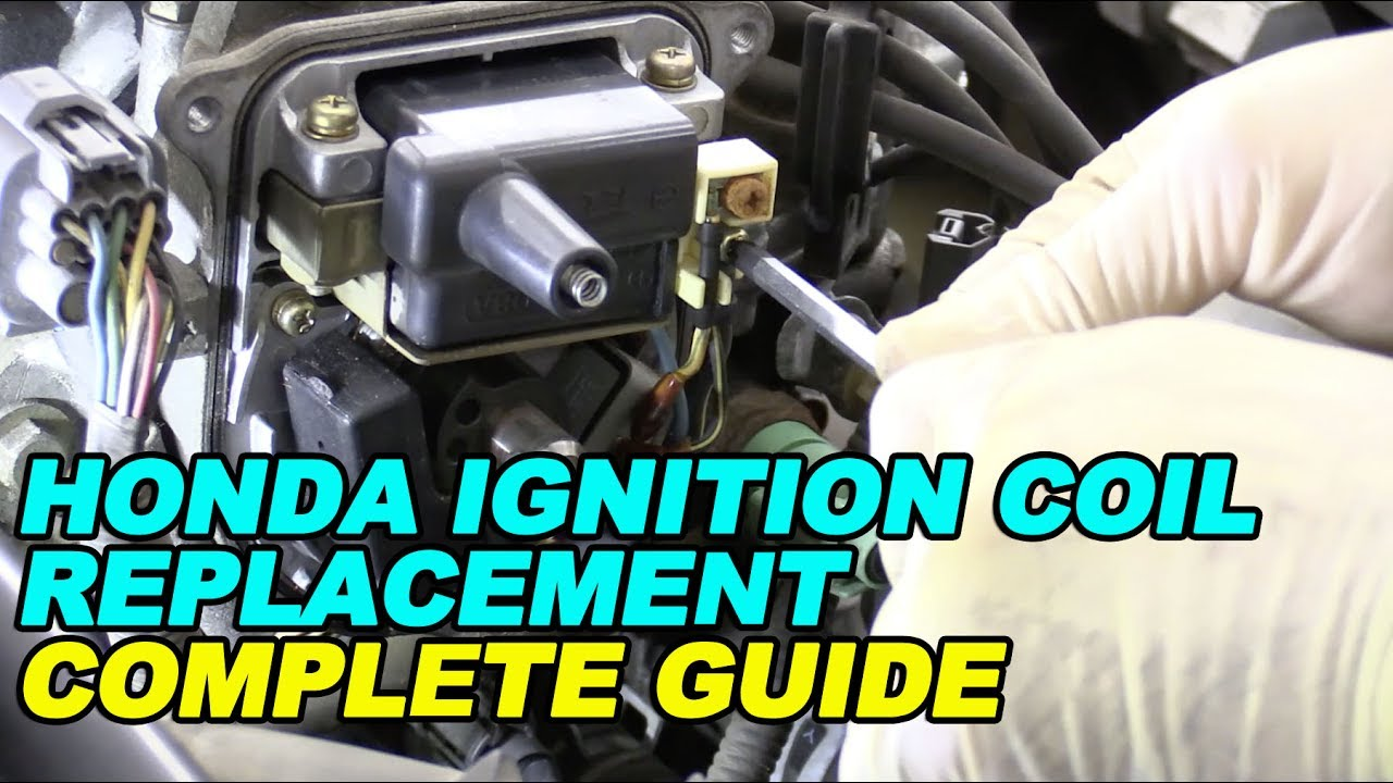 Honda Ignition Coil Replacement Complete Guide Youtube 1996 Accord Trailer Wiring Connection Diagram