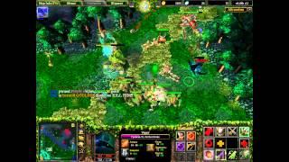 Warcraft 3 Frozen Throne Карта dota v6.49b all  герой Viper
