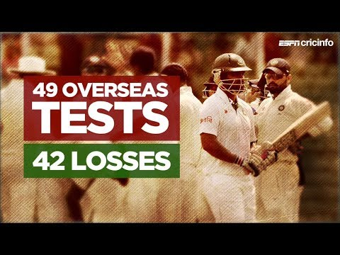 Bangladesh's overseas Test woes