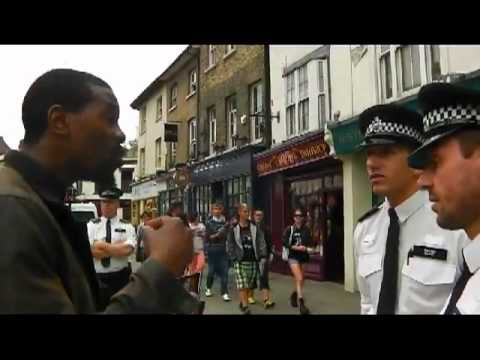 Hypocrisy of the british police