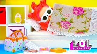 Красавица Биби проспала школу и свою любовь! Мультик куклы ЛОЛ сюрприз LOL dolls
