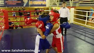 Кубик Владимир (Тайшет) vs Аблаев Константин (Тулун)