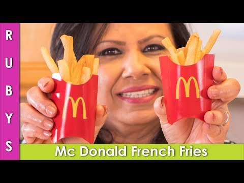 Mc Donald Freach Fries at home How to Make