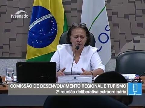 CDR - Comissão de Desenvolvimento Regional - TV Senado ao vivo - 21/02/2018
