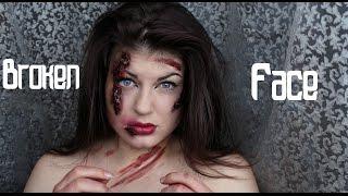 l Broken Face l Я упала с сеновала, тормозила головой l Разбитое Лицо l Страшный Макияж l
