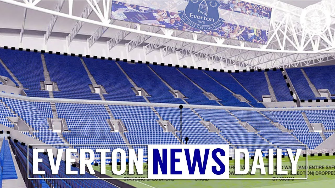 New Everton Stadium Document Leaked Everton News Daily Youtube