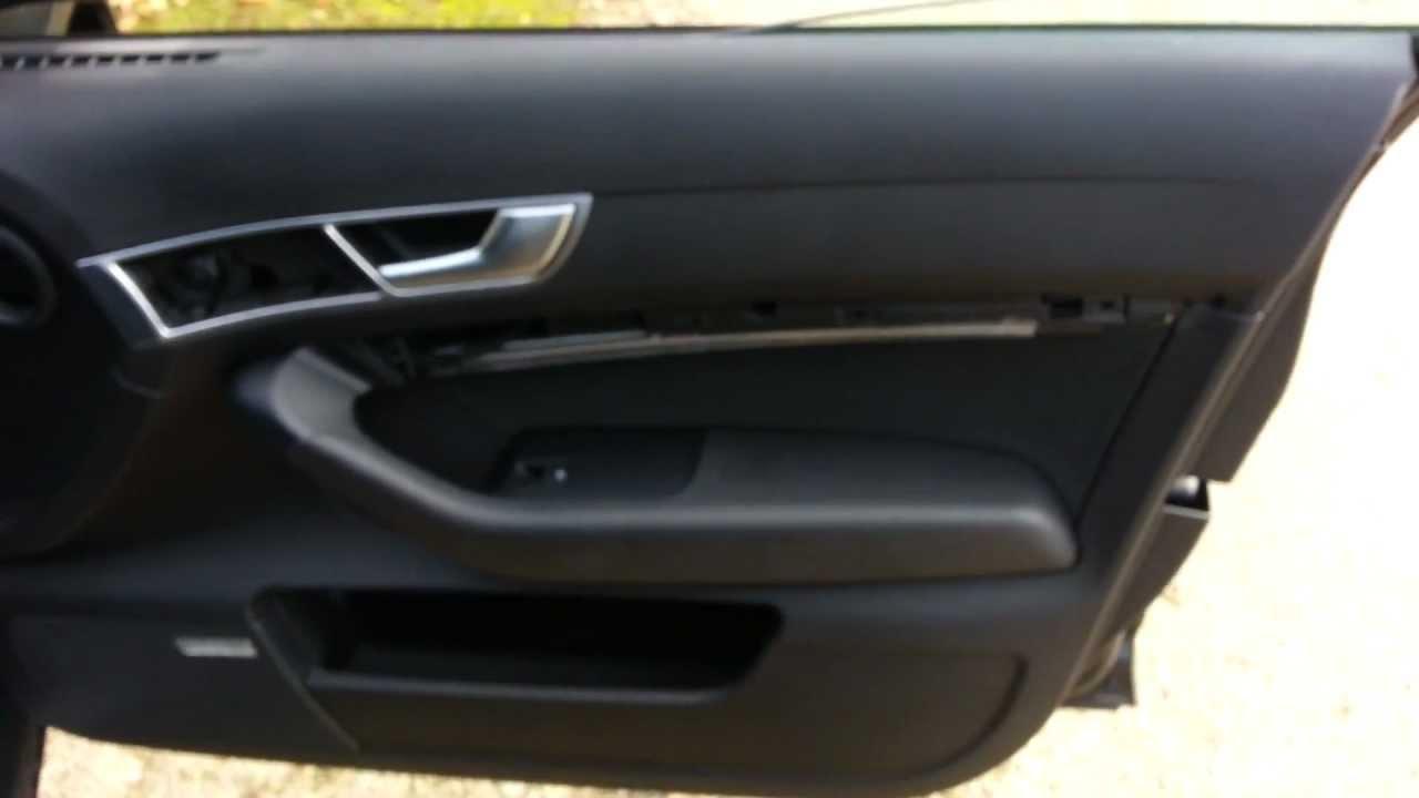 Audi A6 Türverkleidung demontieren Ausbauen und Einbauen Part 2/2 ...