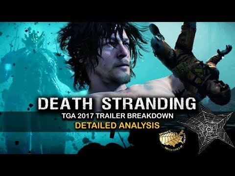 Death Stranding IN-DEPTH Analysis Retweeted by KOJIMA! (TGA '17) - Black Holes, Parallel Dimensions!