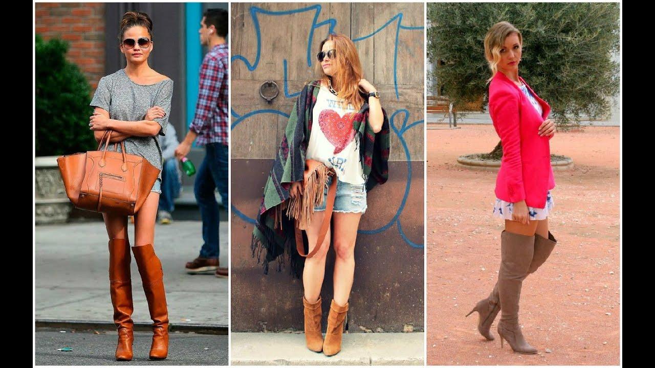 Botas Mujer u2665 OUTFITS DE PRIMAVERA #Botas #Outfits #Moda - YouTube