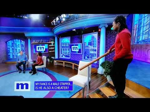 Maury - Angry Black Woman Chases Cheating Stripper Boyfriend