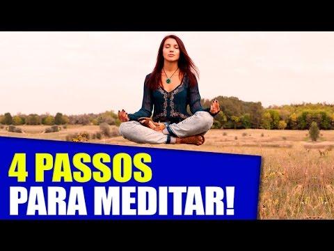 Meditar? 4 Passos para Você Conseguir Meditar [LIVE do Face]