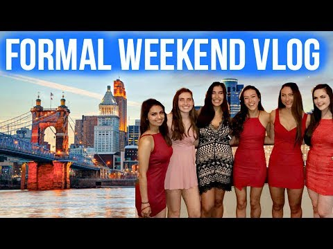 Weekend in my Life // Formal in Cincinnati 2017