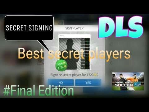 (Compilation) Best secret players of Dream League Soccer 2016 [Final Edition]  !! Secret Signing !!™