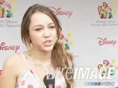 """Miley Interview at """"A Time For Heroes"""" Event"""