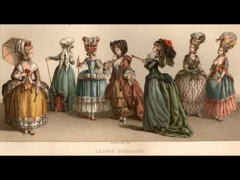 La mode au XVIIIèm siècle