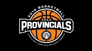 ASAA 1A Boys Basketball Provincials (Stirling Gym)  - Saturday