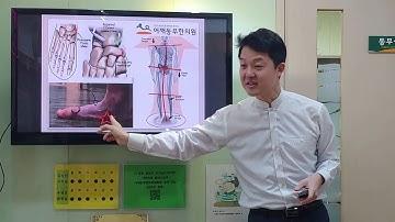 발안쪽이 아파요.발목 안쪽에  통증이 있어요.(부주상골증후군) - 어깨동무한의원