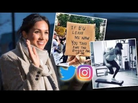 Revealed : WHY Meghan Markle deletes her Instagram, Facebook and Twitter debts The Royal News