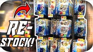 HUGE RESTOCK!! BEYHUNTING With ilinnuc!! || Beyblade Burst Evolution