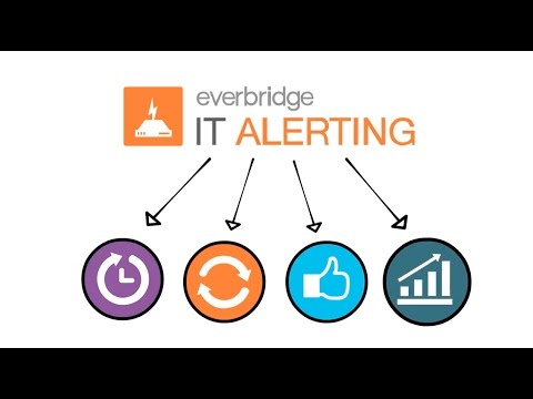 what is everbridge What is Everbridge IT Alerting? - YouTube