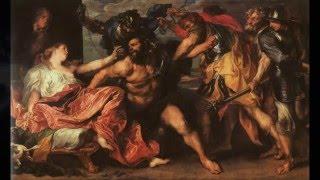 Могучую силу имея, Бесстрашен и силен Самсон