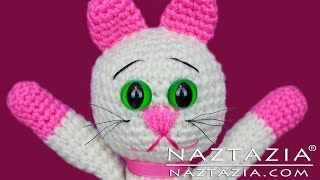 DIY Learn How to Crochet Kitty Kitten Cat Toy Amigurumi Stuffed Animal Pet