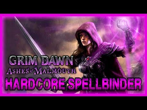 New Spellbinder Build in Hardcore! (Necromancer + Arcanist) Grim Dawn Ashes of Malmouth