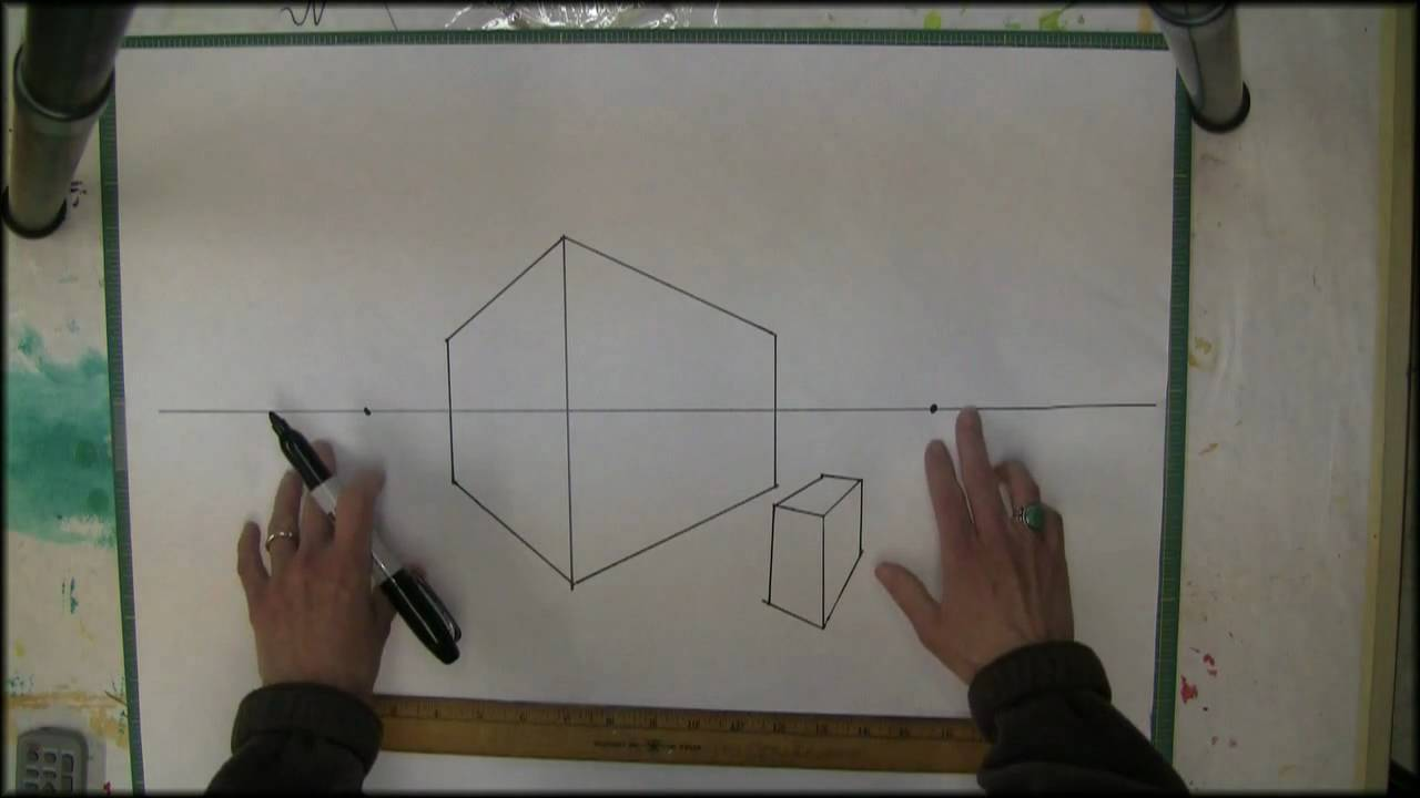 2 Point Perspective Drawing Start Here Youtube